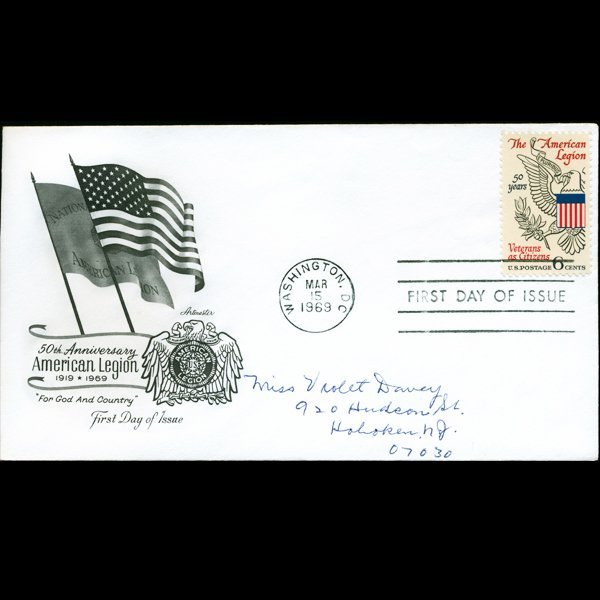 1969 US First Day Postal Cover