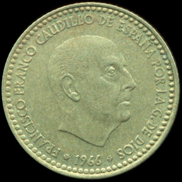 1970s Spain 1p ERROR XF