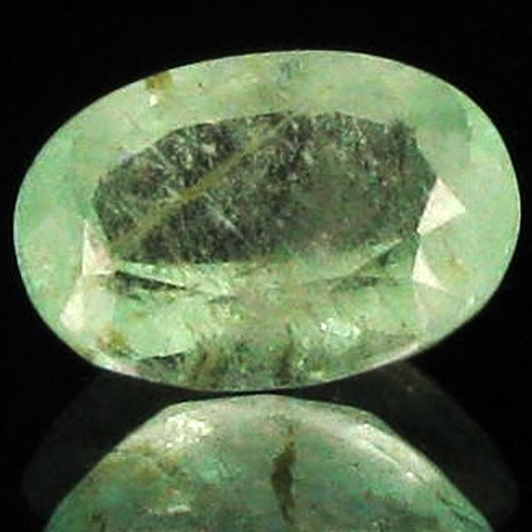 6.15ct Frosty Mint Green Colombian Emerald