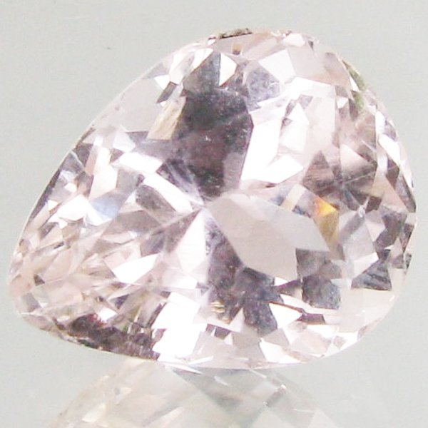 10.2ct Strong Green Kunzite Pear