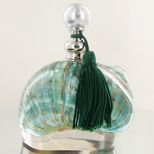 Enameled Handcrafted Perfume Bottle
