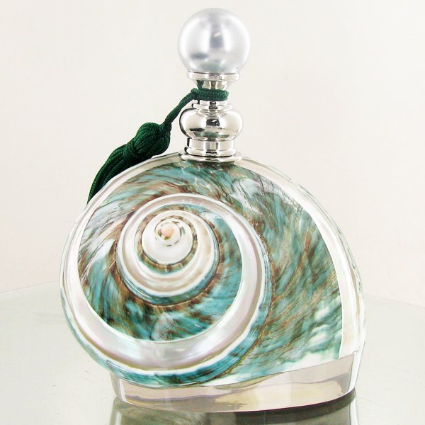 Enameled Handcrafted Perfume Bottle - 2