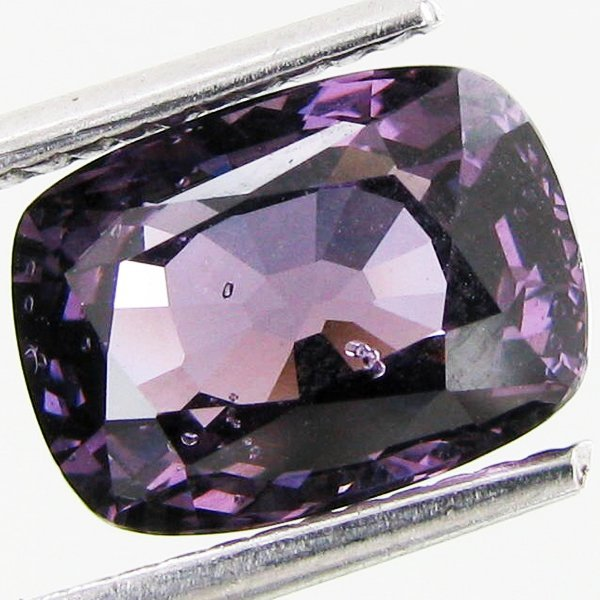 3.37ct Magnificent Cushion Purple Spinel