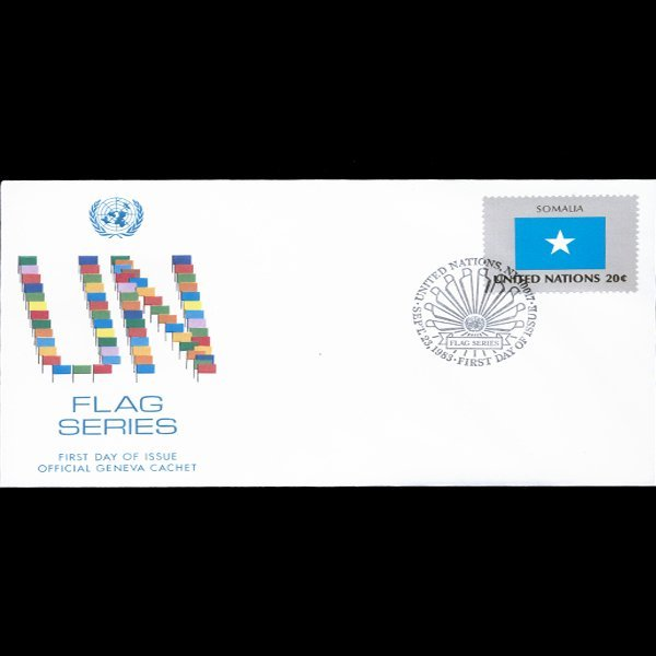 1983 UN First Day Postal Cover
