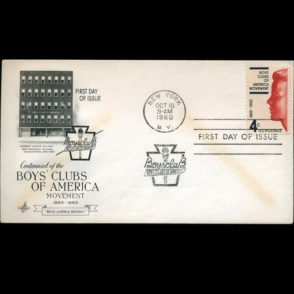 1960 US First Day Postal Cover