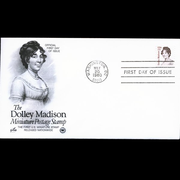 1980 US First Day Postal Cover