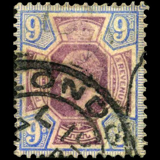 1905 Britain Edward 9p Stamp