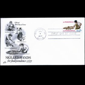 1977 US First Day Postal Cover