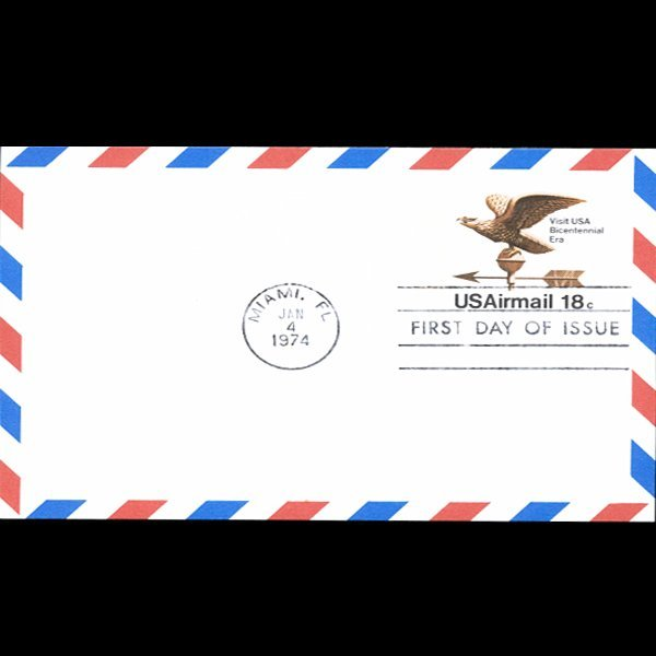 1974 US First Day Postal Cover