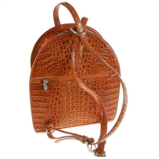 New Crocodile Backpack Handbag