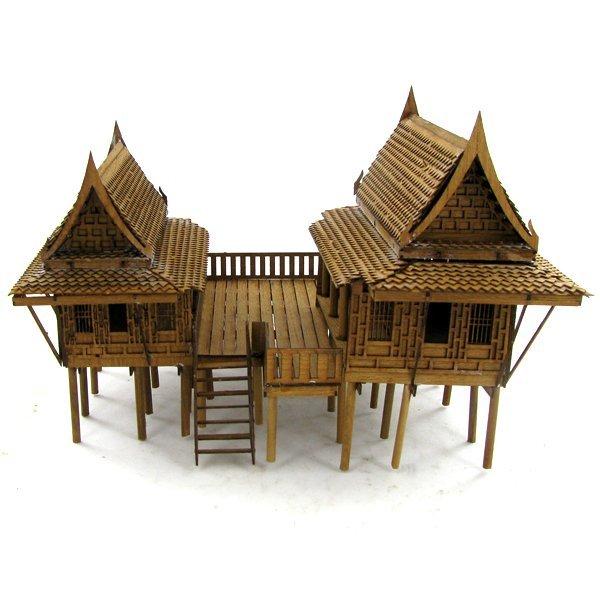 Thai Teak House Model Kit