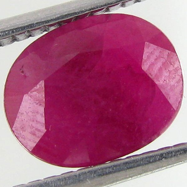 3.45ct Burma Ruby Oval Heated Only