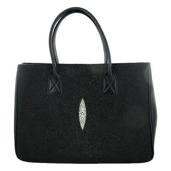 Multi-Pelt Stingray Skin Handbag Totebag