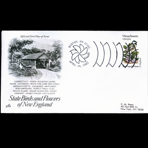 1982 US First Day Postal Cover