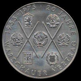 1975 E Germany 10 Mark MS64+ PL
