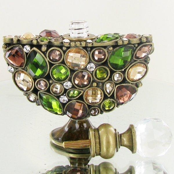 Enameled Handcrafted Perfume Bottle - 3