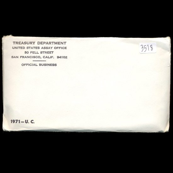 1971 US Mint Coin Set UNOPENED
