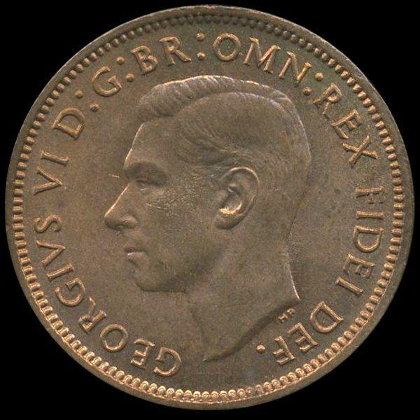 1951 Britian 1/4p MS65