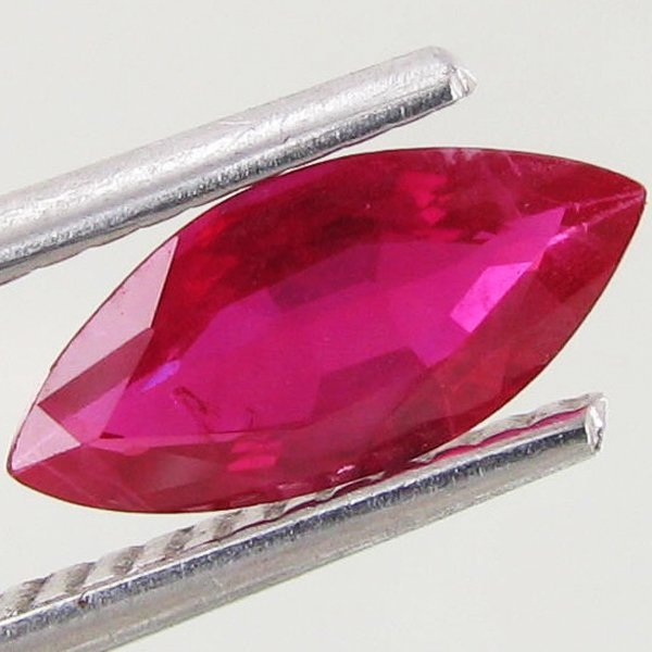 1.02ct Ruby Marquise Burma Heated Only