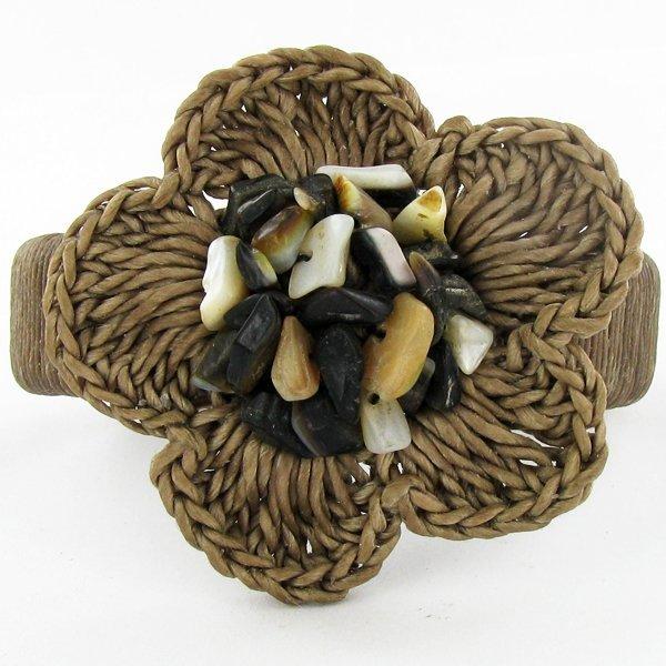 Crocheted Shell Ring