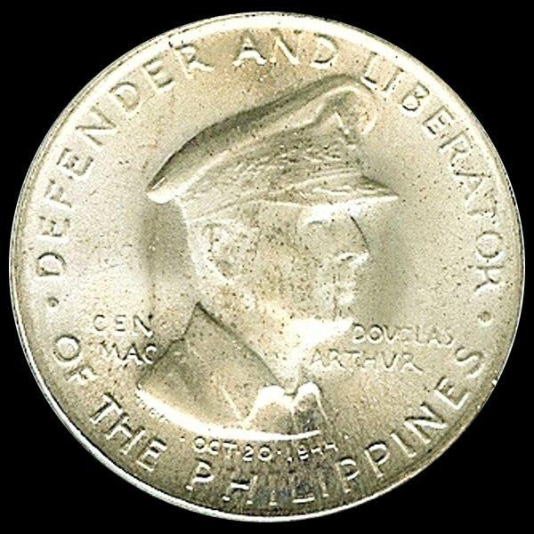 1947S Philippines 50c Silver Gem MS66+