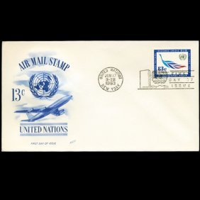 1963 UN First Day Postal Cover