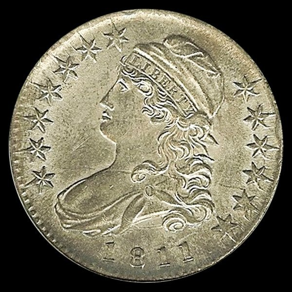 1811 US Bust Silver Half MS62 Variety