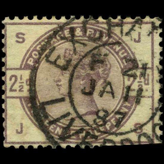 1884 Britain 2.5p Victoria Stamp