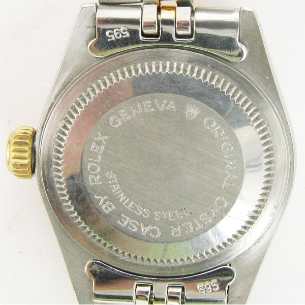 Rolex Tudor Ladies Princess Oysterdate 14k Bezel & Stem - 3