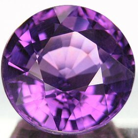 1ct. Round Natural Amethyst 7mm