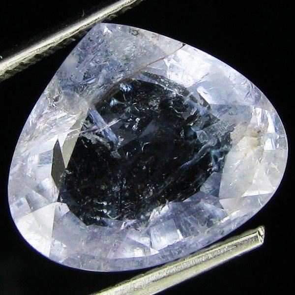 6.34ct  Copper Bearing Soft Blue Tourmaline