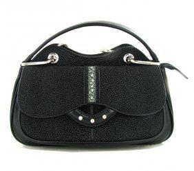 High End Ladies Stingray Handbag Purse
