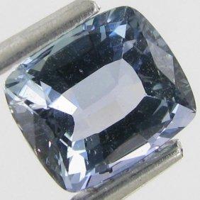 1.7ct Natural Blue Tourmaline Cushion