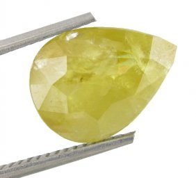 4.63ct Yellow Mozambique Tourmaline