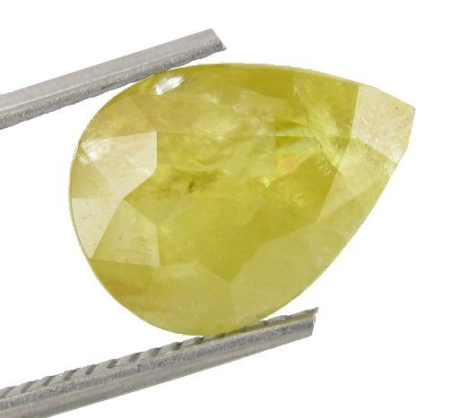 4.63ct Yellow Mozambique Tourmaline