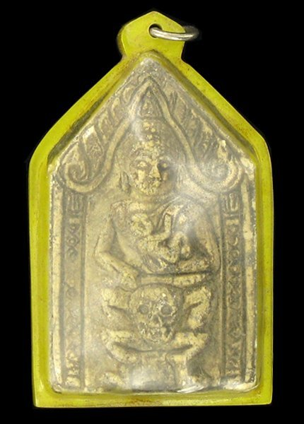 Antique Thai Clay Amulet 1920s Buddha Infant
