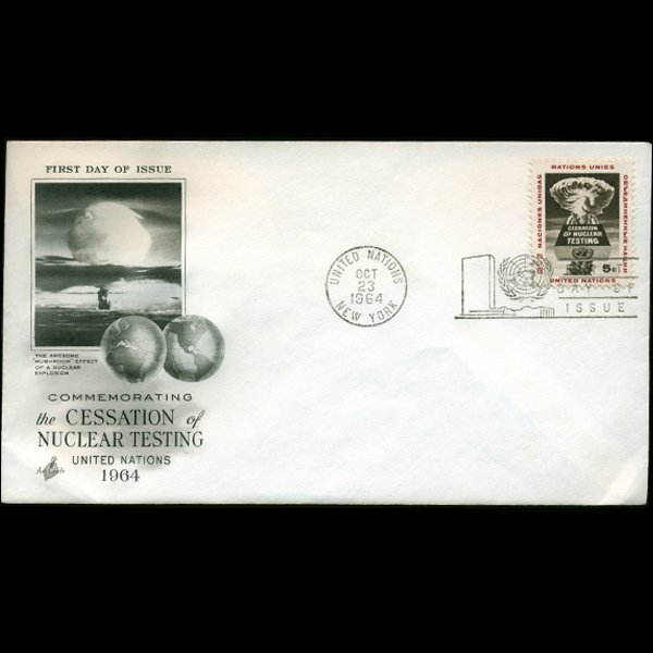 1964 UN First Day Postal Cover