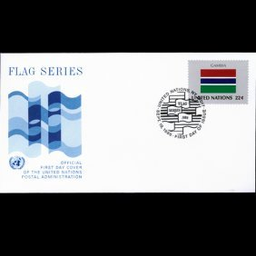 1986 UN First Day Postal Cover