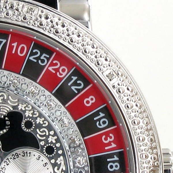 New Ice Time Mens Diamond Bezel Watch White Gold Plated - 2
