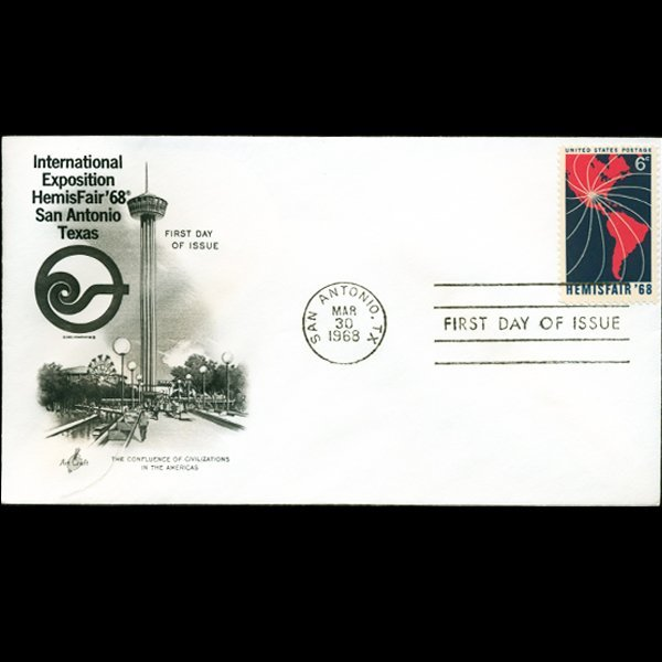 1968 US First Day Postal Cover