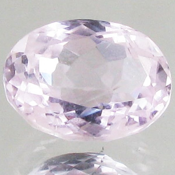 4.05ct Hot Pink Kunzite Oval