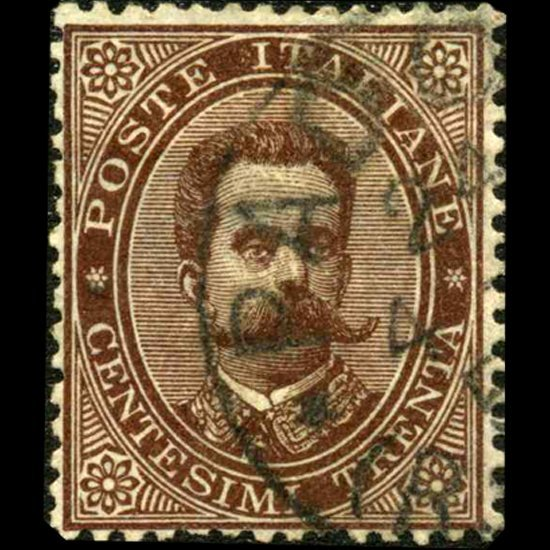 1879 Scarce Italy 30c Stamp