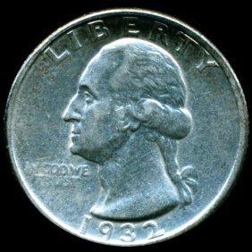 1932 Washington 25c Better Circulated