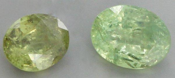 0.4ct Green Demantoid Garnet Parcel