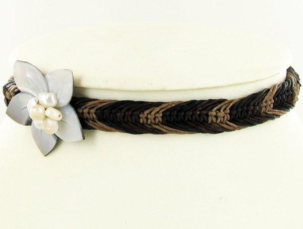 Crocheted Shell Choker Child Necklace