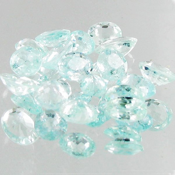 1.20ct Neon Blue Cuprian Tourmaline Parcel