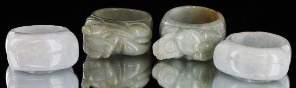 Burma Jade Ring Parcel 4 Pieces