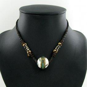 Tibet Shell Agate Bead Choker Necklace