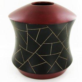 Handcarved Mango Vase