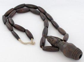Vintage West African Tribal Necklace